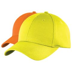 Sport-Tek Safety Moisture Wicking Ball Cap