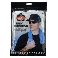 Ergodyne Chill-Its 6601 Economy Evaporative Cooling Towel Packaging