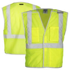 ML Kishigo 1505B/1506B Brilliant Series Breakaway Class 2 Vests