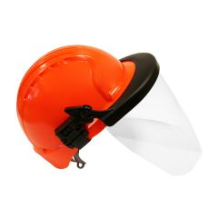 Surefit™ Clear Polycarbonate Safety Visor And Hard Hat Adapter (Hard Hat Sold Separately)