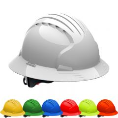 JSP Evolution Deluxe 6161 Full Brim Hard Hat