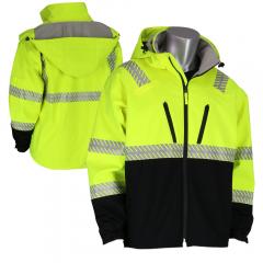 PIP Ripstop 333-1550 Softshell Black Bottom Jacket