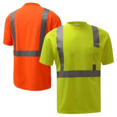 GSS Safety 5001/5002 Class 2 HiVis Short Sleeve Safety T-Shirt