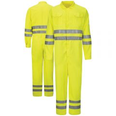 Bulwark CMD8 Class 3 Deluxe Coverall | Front