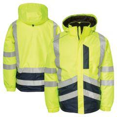 CAT 1310051 Class 3 Storm Blocker Plus Insulated Rain Jacket