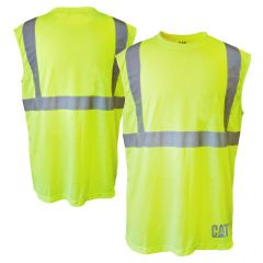CAT 1510291 Class 2 Moisture Control Sleeveless T-Shirt
