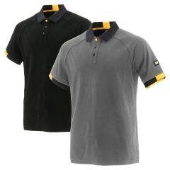 CAT 1620010 Moisture Control Poly/Cotton Capital Polo