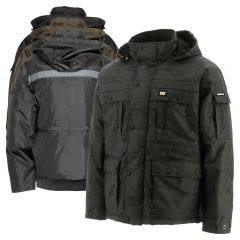 CAT W11432 Multi-Pocket Quilt Lined Insulated Parka