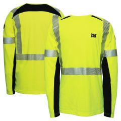 CAT 1630007 Class 3 FR HRC 2 Segmented Performance Crew Long Sleeve Shirt