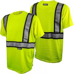 DeWALT DST911 ANSI Class 2 Flame Resistant Short Sleeve Safety Shirt - Front