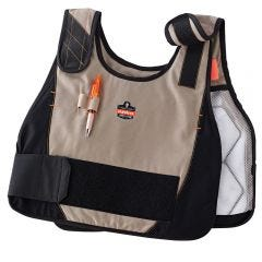 Ergodyne Chill-Its 6215 Premium FR Phase Change Cooling Vest with Packs