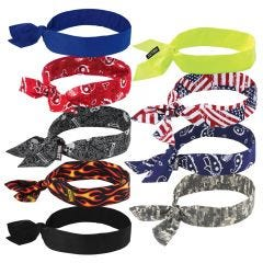 Ergodyne Chill-Its 6700 Tie-Back Evaporative Cooling Bandana