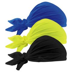 Ergodyne Chill-Its 6710CT Evaporative Cooling Triangle Hats with Cooling Towel