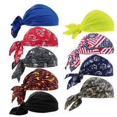 Ergodyne Chill-its 6710 Evaporative Cooling Triangle Hats