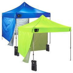 Ergodyne SHAX 6051 Heavy-Duty Pop-Up Tent Kit – 10ft x 10ft