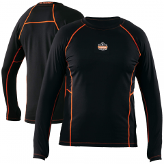 Ergodyne 6435 N-Ferno Thermal Base Layer Long Sleeve Shirt