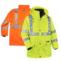 Ergodyne GloWear 8385 Class 3 4-in-1 Jacket