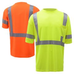 GSS Safety 5007/5008 Class 3 HiVis Short Sleeve Safety T-Shirt