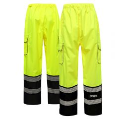 GSS Safety 6711 Onyx Series Class E Safety Pants w/ Teflon Coating