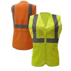 GSS Safety 7803-7804 Class 2 Ladies Safety Vest