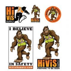 HiVis Supply 991200 Sticker Kit