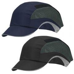 JSP 282-AES150 Lightweight Adjustable Short Brim Baseball Style Bump Cap