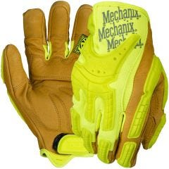 Mechanix CG40 Hi-Viz Heavy Duty Impact Leather Glove