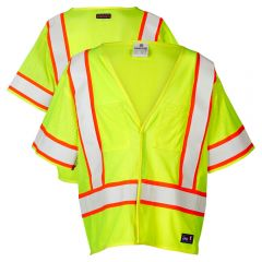 ML Kishigo Pro Series FR Class 3 F312/F313 Hi Vis Safety Vests - front