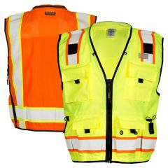 ML Kishigo S5000/S5001 Class 2 Professional Surveyors Safety Vest