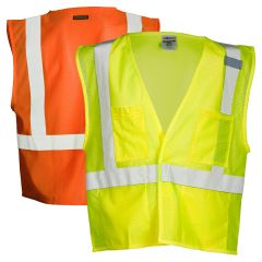ML Kishigo 1083/1084 4-Pocket Hi Vis Mesh Safety Vest