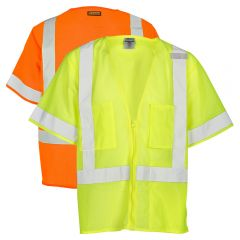 ML Kishigo 1264 Lime Ultra-Cool Class 3 Economy Mesh Safety Vest - front
