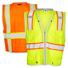 ML Kishigo 1510/1511 Brilliant Series Class 2 Heavy Duty Safety Vest