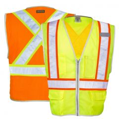 ML Kishigo 1576/1577 Brilliant Series Class 2 X Back Safety Vest