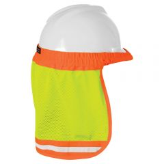 ML Kishigo 2810 Hard Hat Sun Shield | Lime