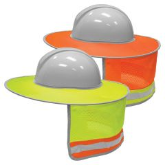 ML Kishigo 2873/2874 Enhanced Visibility Full Brim Hard Hat Sun Shield