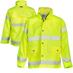 ML Kishigo 9665J Storm Stopper Class 3 Hi Vis Rain Jacket