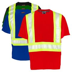 ML Kishigo B200/B204 Enhanced Visibility Series Class 1 Contrast T-Shirt