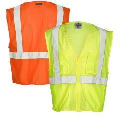 ML Kishigo FM419/FM420 Treated FR Mesh Safety Vest