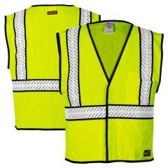 ML Kishigo FM453 Class 2 Contrasting Breathable FR Safety Vest HRC-1