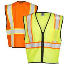 ML Kishigo FM527/FM528 Class 2 Self Extinguishing Mesh Vest