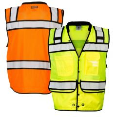 ML Kishigo S5006-S5007 Class 2 High-Performance Surveyors Vest