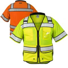 ML Kishigo S5014/S5015 Class 3 High Performance Surveyors Vest