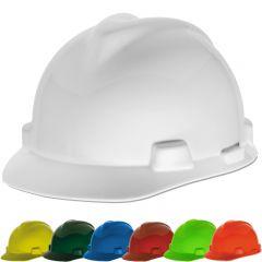 MSA-475358 V-Gard Cap Style Hard Hat - white