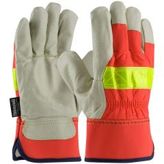 PIP 125-458 Top Grain Pigskin Leather Palm Thinsulate Work Glove