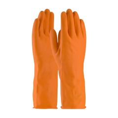 PIP 48-L302T Assurance 28-mil Industrial Latex Orange Safety Gloves