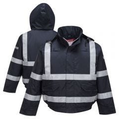 Portwest S783 Enhanced Visibility Bizflame Rain FR Bomber Jacket