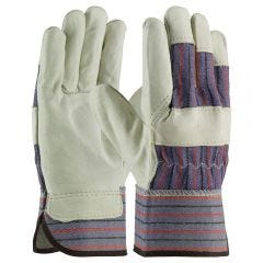 Protective Industrial Products Top Grain Leather Palm Work Glove