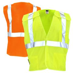 Radians SV4 Economy Class 2 Breakaway Mesh Safety Vest