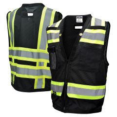Radians SV59-1 Class 1 Heavy Duty  Zippered Surveyors Vest