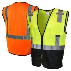 Radians SV7B Class 2 Black Bottom Surveyor Safety Vest